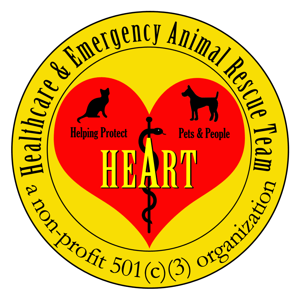 Healthcare and Emergency Animal Rescue Team Logo